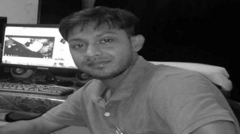 Santanu Bhowmik, a journalist went to cover the clashes between Indigenous Peoples Front of Tripura and Tripura Upajati Gan Mukti Parishad, tribal wing of CPI(M), where he was attacked by unknown persons. (Photo: Facebook)