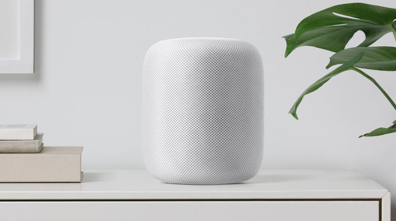 Apple's HomePod speaker isn't available on Apple shelves yet.