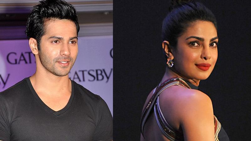 Varun Dhawan and Priyanka Chopra.