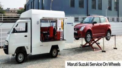 The service covers all Maruti cars whether they run on petrol, diesel or CNG.