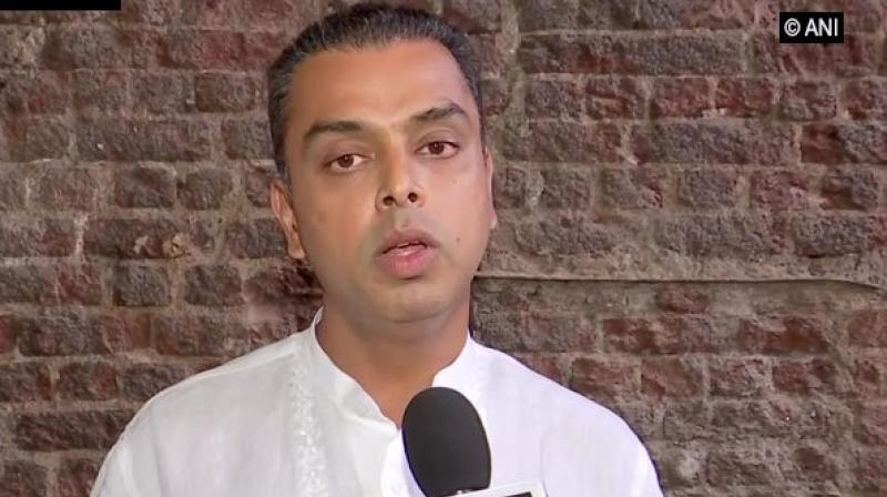 'The same has been conveyed to Mallikarjun Kharge and KC Venugopal, General Secretaries, All India Congress Committee,' a statement from Deora's office said. (Photo: ANI)
