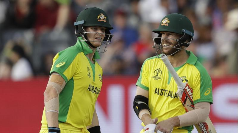 Smith took a diving catch, produced a brilliant run out, and combined with Warner in a 49-run stand before he was out three runs shy of the victory target. (Photo: AP)