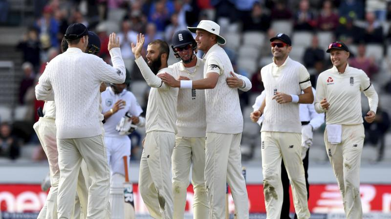 In its first series under Root, England was ultimately convincing in three of the four tests, with its only wobble coming in a heavy defeat in the second match at Trent Bridge. (Photo:AP)