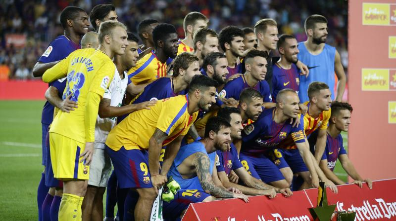 Barca invited Chapecoense to contest the traditional friendly, named after the club's Swiss founder, 10 days after the crash, offering half the proceeds from the game to the Brazilian club in addition to making a donation of 250,000 euros  to help the club's reconstruction. (Photo: AP)