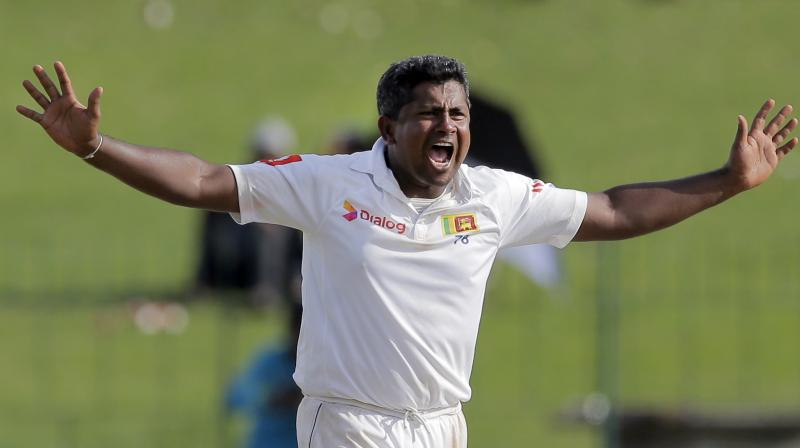 Herath joins the list of other Sri Lankan players like all-rounder Asela Gunaratne, pacers Suranga Lakmal and Nuwan Pradeep, who have all been ruled out of the series. (Photo: AP)