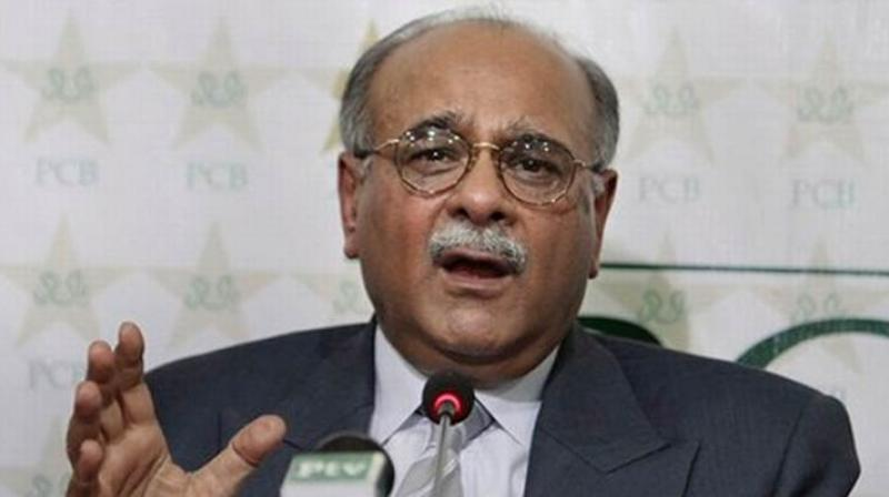 Chairman of the PCB's executive committee Najam Sethi said that it would press for a relocation event at an Asian Cricket Council (ACC) meeting this week. (Photo:AP)