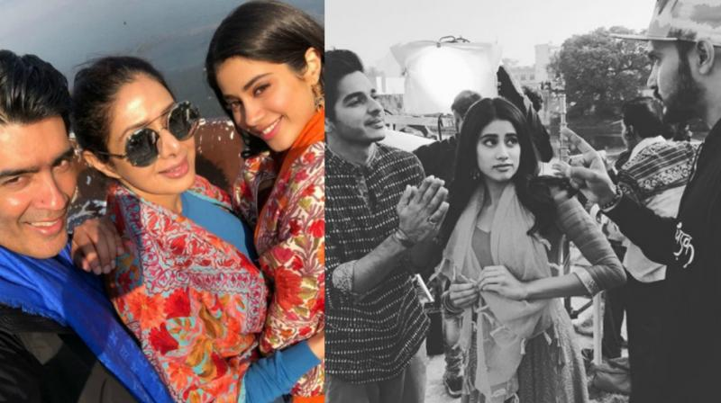 Ishaan Khatter and Janhvi Kapoor begin shooting for 'Dhadak'