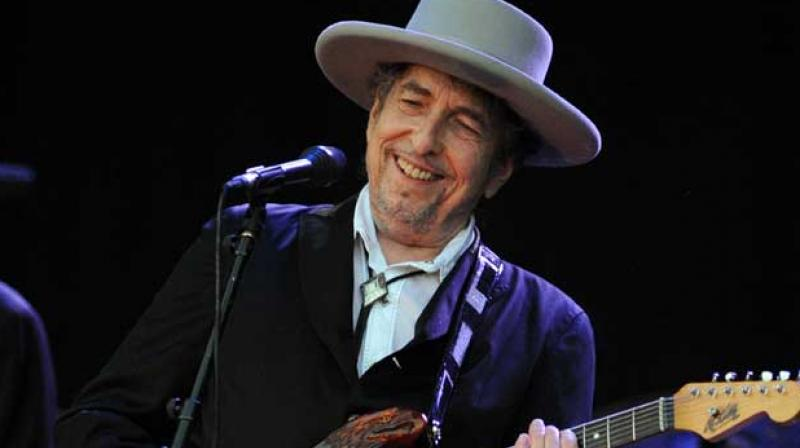 Bob Dylan's original songs from the early 1960s also owe a considerable debt to Guthrie. (Photo: AFP)