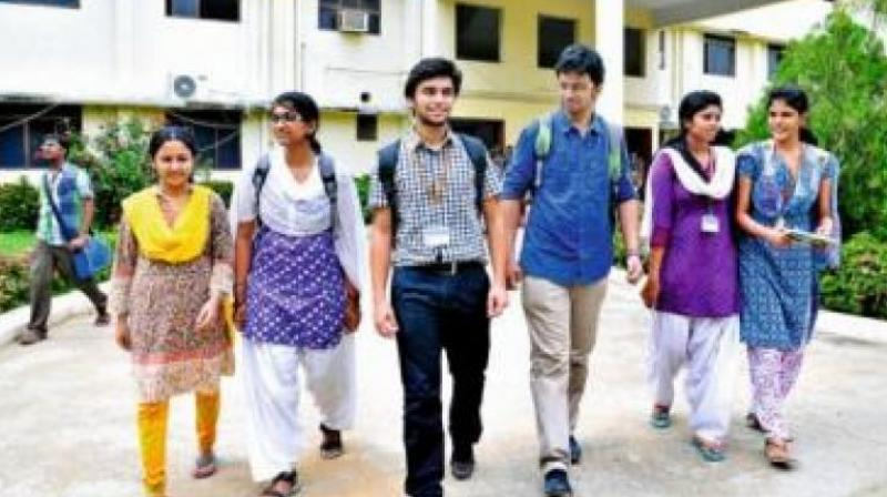 According to the Ministry of Human Resources and Development, India currently has over 36 million students pursuing higher education. (Representional Image)