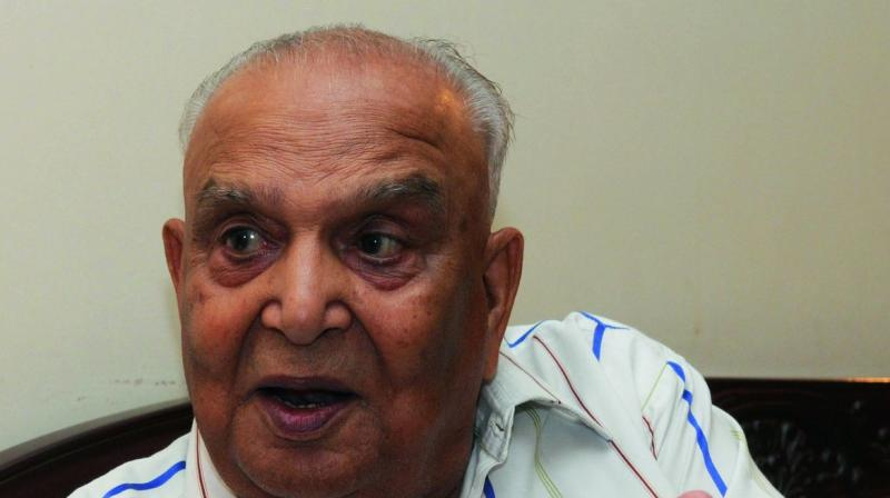 Lt. Gen. Srinivas Kumar Sinha, (1926-2016) (Photo: SONDEEP SHANKAR)