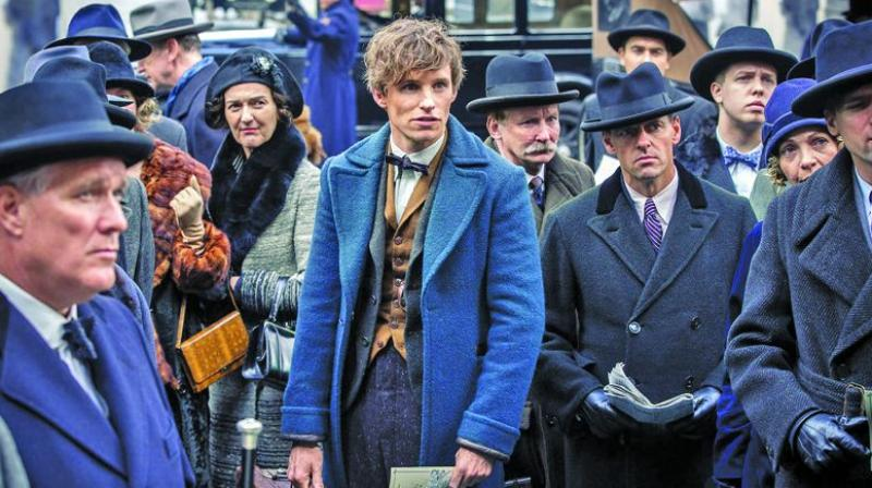A still from the movie Fantastic Beasts and Where to Find Them
