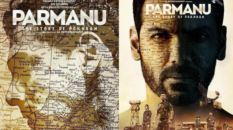 John Abraham on 'Parmanu' poster.