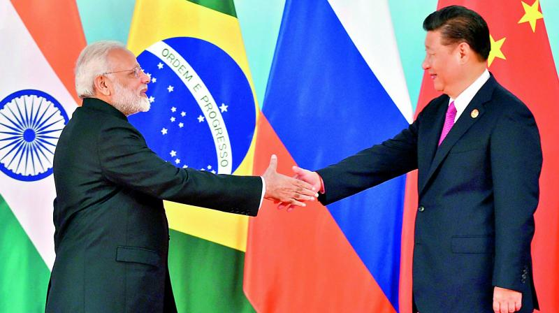 The Belt and Road Initiative also includes the China-Pakistan Economic Corridor or CPEC which India strongly opposes as it passes through Pakistan-occupied Kashmir. (Photo: File)