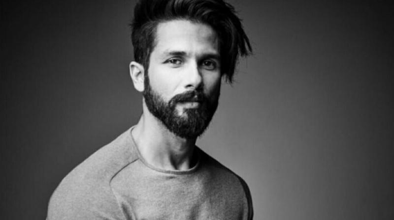 Shahid Kapoor in a photoshoot.
