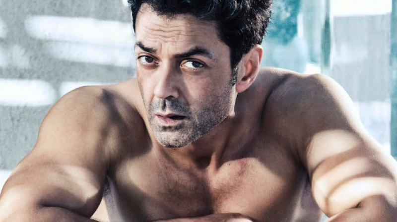 Bobby Deol in a photoshoot.