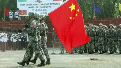 When the going is relatively smooth between New Delhi and Beijing, the governments of the two countries discourage their respective media from whipping up jingoistic emotions. AFP Photo