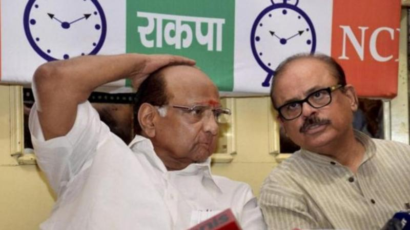 Tariq Anwar formed the NCP in the 1990s along with Sharad Pawar and the late P A Sangma. (Photo: File/PTI)