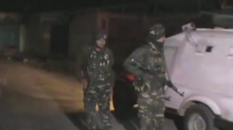 Terrorists storm into CRPF camp, two personnel injured