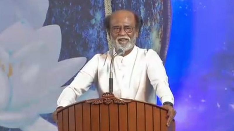 Rajinikanth to enter politics with mantra of change
