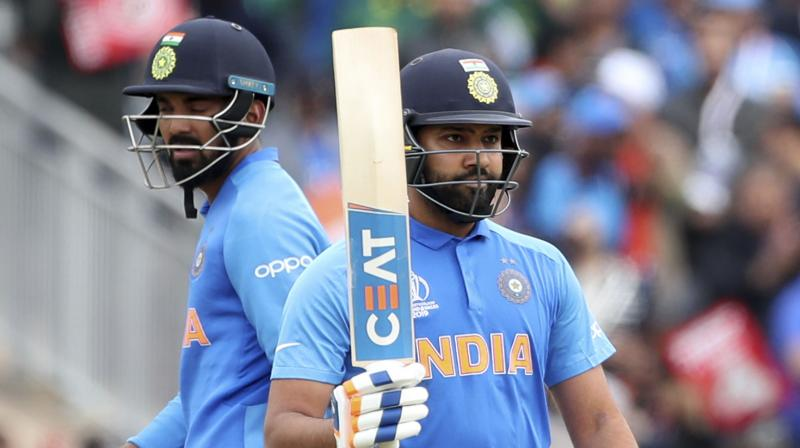 Rohit now sits just below Australia captain Aaron Finch's 343 runs in five matches. (Photo: AP)