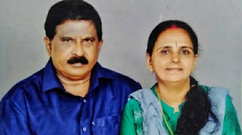 Sharing the picture of his mother, Sreedhar recalled the abusive marriage of his mother. (Photo: Facebook)
