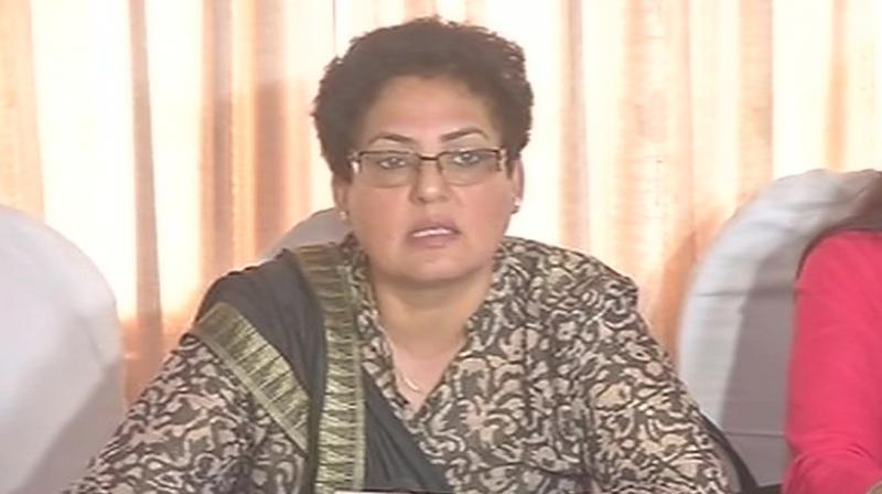 National Commission for Women NCW Chairperson Rekha Sharma said that few boys, who are not students of BHU, have been found staying in the university hostels. (Photo: ANI)