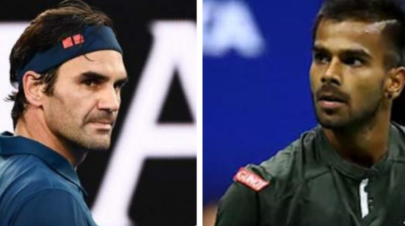 With his fearless approach, Sumit Nagal impressed iconic Roger Federer at the US Open and then took it forward by making two finals on the Challenger circuit, but the youngster is flabbergasted that people are just 'walking away' when he needs support. (Photo:AFP)