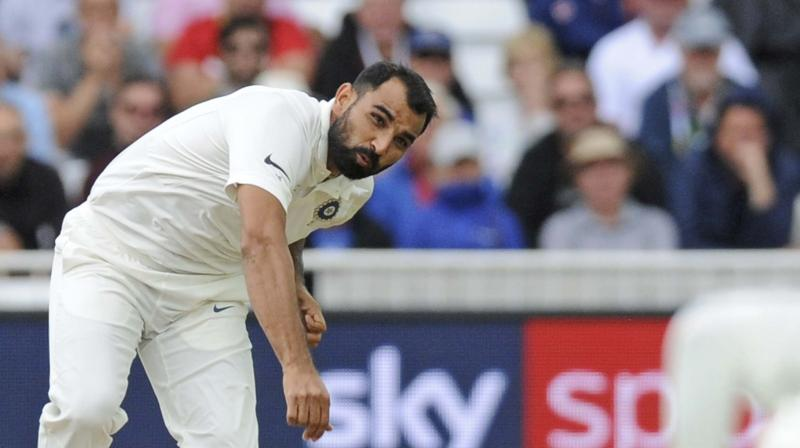 With Indian pacers doing a star turn with 38 out of the 46 wickets in three Tests being taken by them, the Bengal speedster said that it is their duty to deliver in conducive conditions. (Photo: AP)