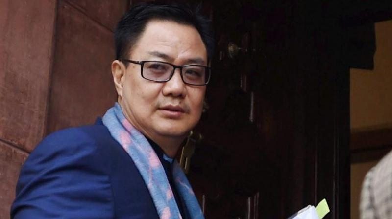 Kiren Rijiju is also elated and impressed over the support given to various sports in the state of Odisha. (Photo: PTI)