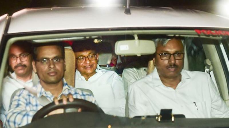 After his arrest, doctors from the Ram Manohar Lohia Hospital conducted medical examination at the CBI headquarters. (Photo: PTI)
