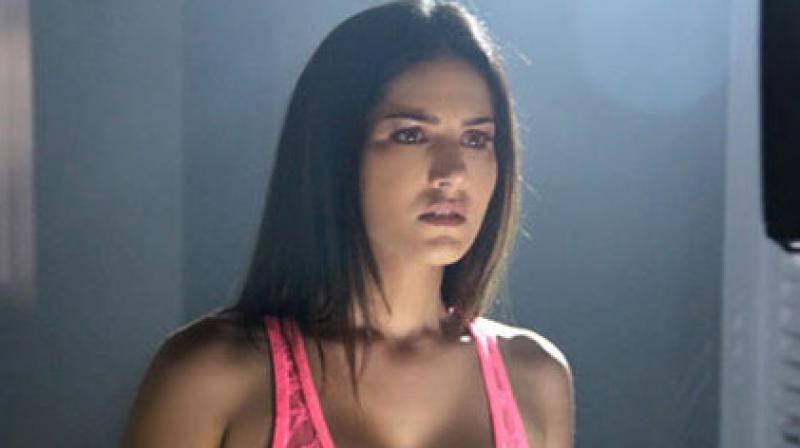 Sunny Leone in a still from 'Ragini MMS 2.'
