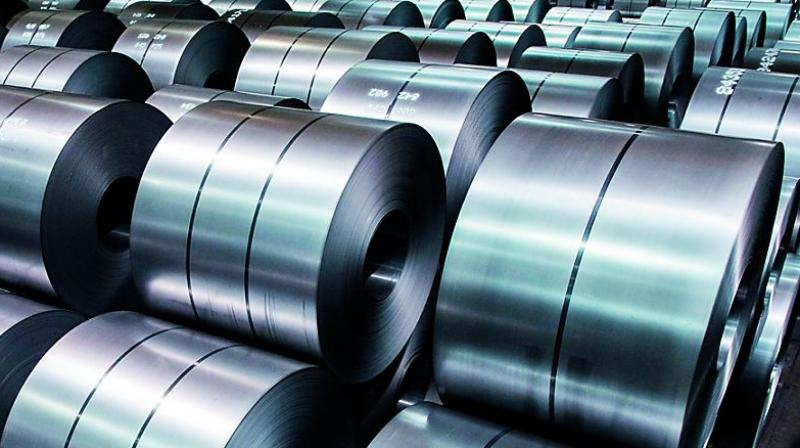 The price of steel in India dropped by an average of more than 10 per cent between October and December.