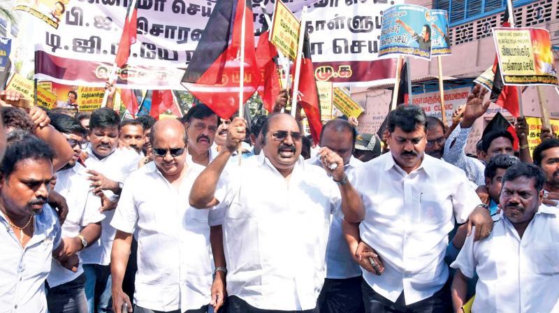 Oppn parties welcome CBI probe into gutka scam
