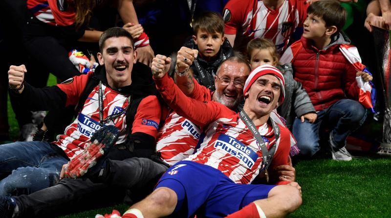 The scoreline mirrored the Spanish side's last Europa League final win over Athletic Bilbao in 2012 and cemented their status as one of the continent's most consistent teams since Argentine coach Diego Simeone transformed their fortunes. (Photo: AFP)