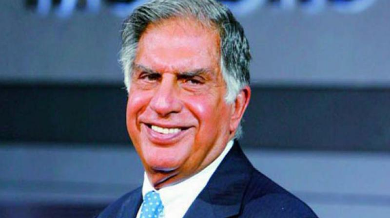 Tata Group patriarch Ratan Tata.