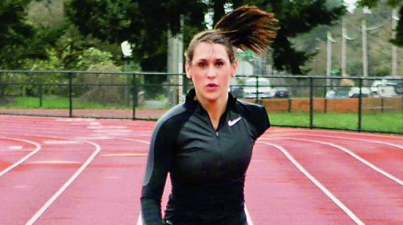 Megan Absten was only 14 years old when her life changed forever. She lost her arm in an accident. She was active in athletics and wrestling before her accident. She decided to pursue her love for sports and began running again.