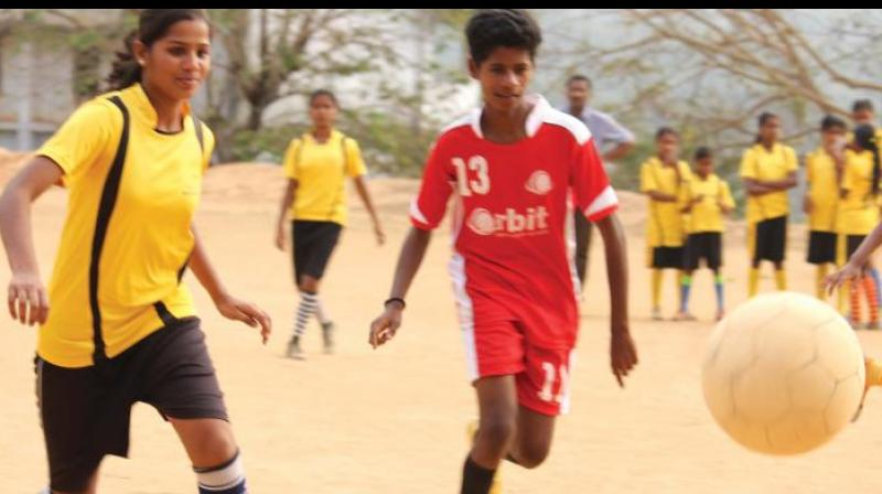 Bridges will host a football tour for children from the Vikaspuri Slums of Delhi.