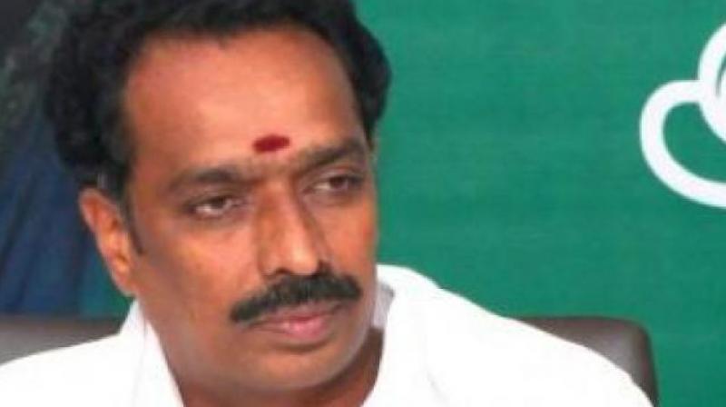 Tamil Nadu Transport Minister M R Vijayabhaskar (Photo: AIADMK.Com)