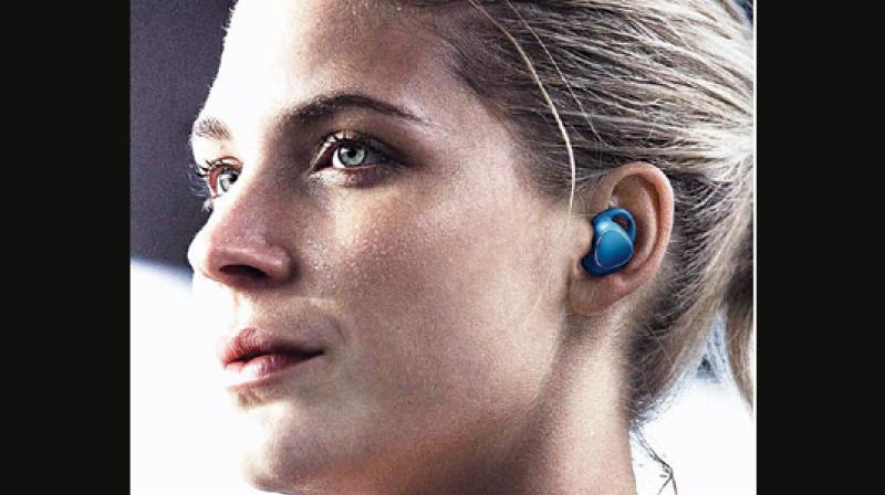 The Gear IconX is Bluetooth v4.2 enabled and is compatible with Samsung Galaxy as well as other Android phones.