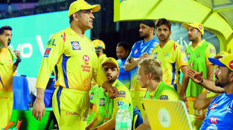 M. S. Dhoni didn't play two matches in the IPL due to back spasm.