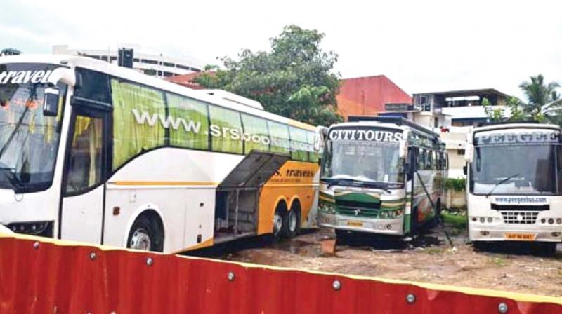 As per the guidelines for issuance of LAPT licence, booking offices of license-holders will have to be at least 500 metres away from any KSRTC depot and the operator will have to ensure toilet facilities every 50 km for the travellers.