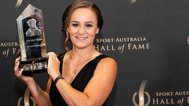 French Open champ No. 1 Ash Barty chosen WTA Player of Year