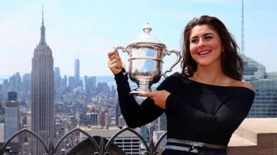 Newly-minted US Open champion Bianca Andreescu received a hero's welcome on Sunday, arriving back in her hometown of Mississauga, Canada, for a celebratory rally, as Canadians embraced their very own #SheTheNorth. (Photo:Instagram)