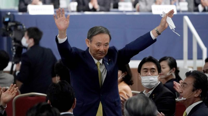 Yoshihide Suga manages an easy win to be Japan's ruling party leader