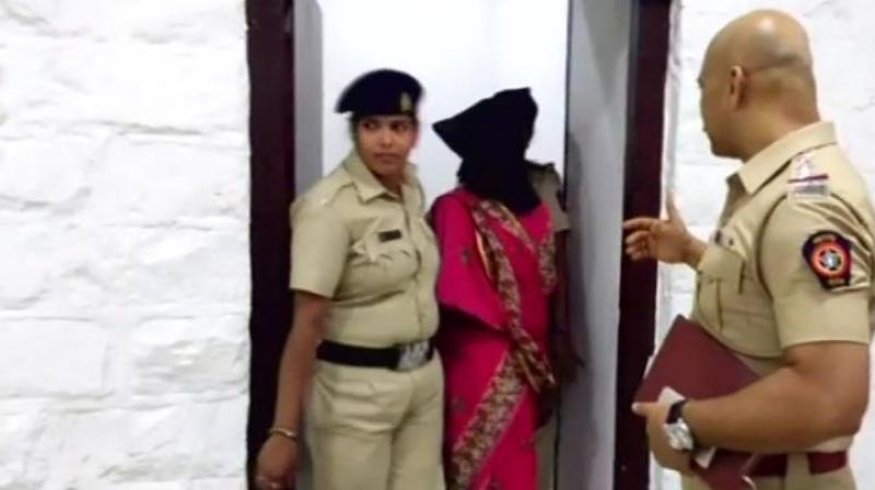 The police initiated a probe into the incident and arrested the woman on charges of attempt to murder. (Photo: Twitter | ANI)
