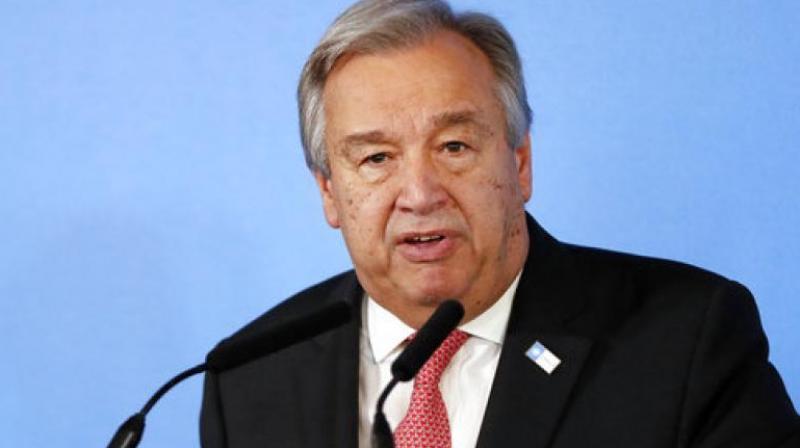 UN Secretary General Antonio Guterres. (Photo: AP)