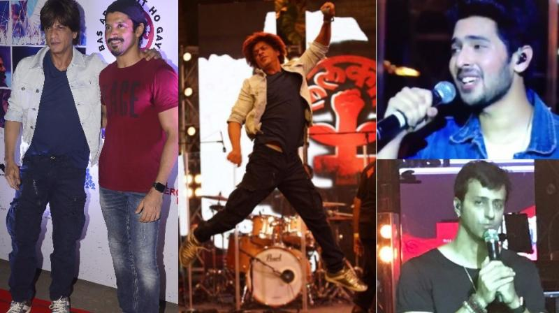 Bollywood celebrities performed at the 'Lalkaar' concert in Mumbai on Tuesday to raise their voice against sexual harassment and discrimination towards women, an initiative for Farhan Akhtar's foundation, Men against Rape and Discrimination (MARD). (Photo: Viral Bhayani/Twitter/Instagram)