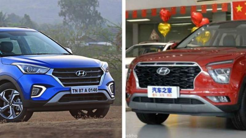 The ix25 is the Chinese cousin of the Creta. Let's take a look at how it differs from the current-gen Creta.