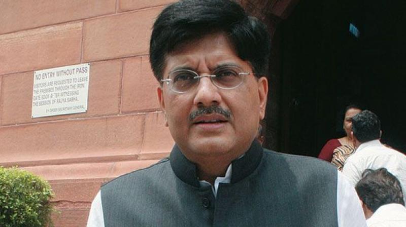 Coal and Power Minister Piyush Goyal