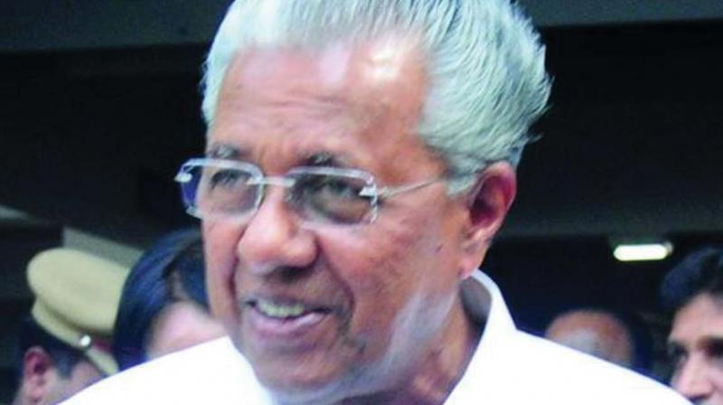 CM Pinarayi Vijayan.